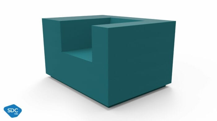 RPBW Sofa armchair large
