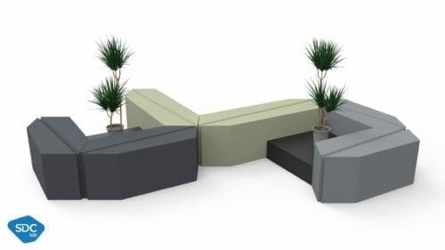 Leaf bench