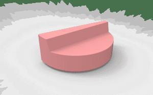 round half cake